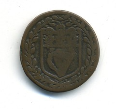 Dublin, William and Mary, Theatre Royal obverse