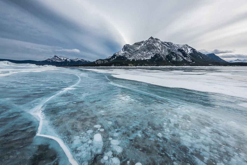 Lago Abraham-Canadá