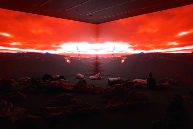 Worry Will Vanish art exhibition by Pipilotti Rist