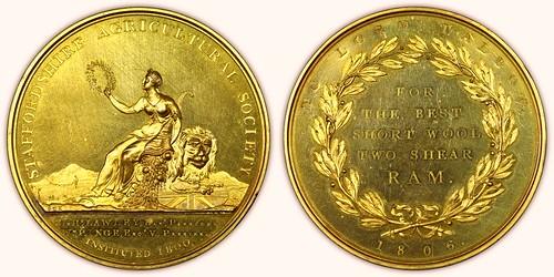 1806 Agricultural Medal
