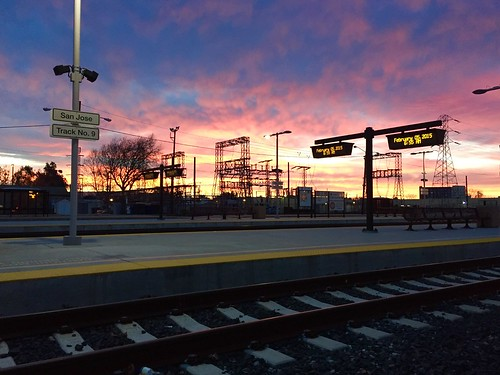 station sunrise caltrain sanjose