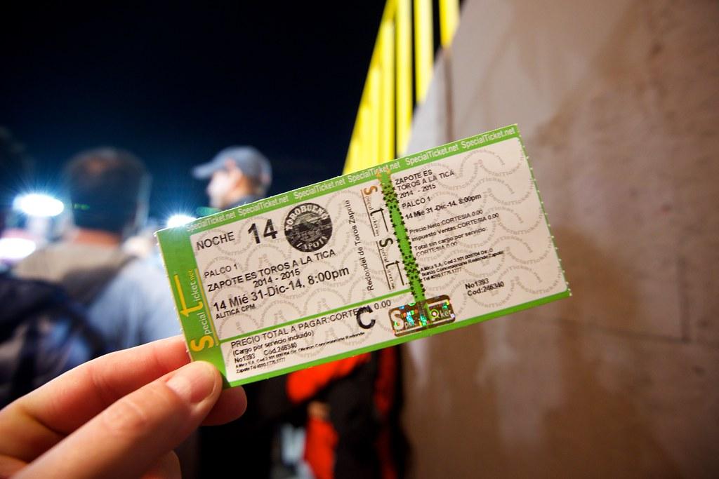 Ticket to the Bullfight