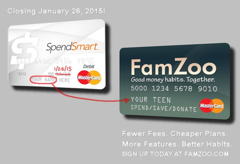 The alternative to the SpendSmart teen prepaid card: FamZoo.