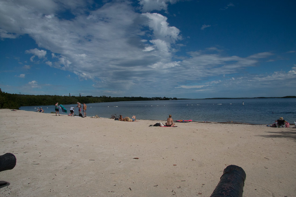 Beaches at John Pennekamp Coral Reef State Park