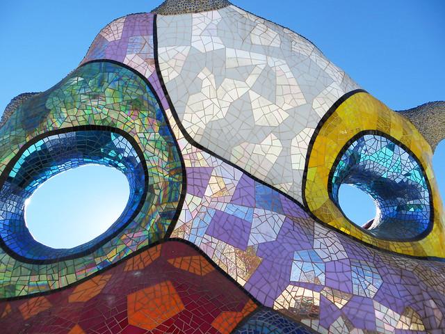 Nikki de St Phalle sculpture garden