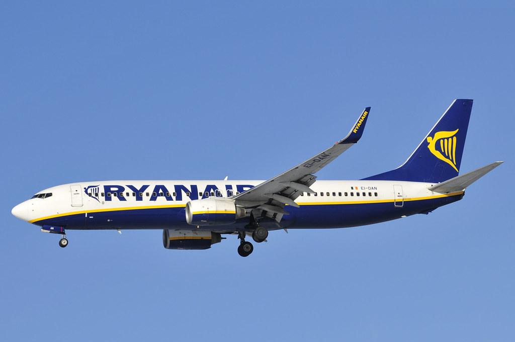 EI-DAN - B738 - Ryanair