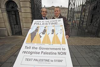 Ambassador Ahmad Abdelrazek and Brian Stanley TD