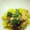 Simplicity at best! Poha for dinner and house of Cards binge watching tonight!