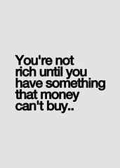 You Are Not Rich Until.