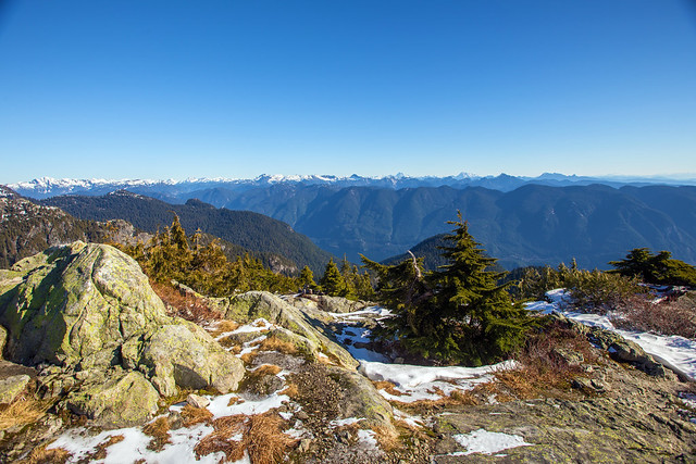 Mt. Seymour summit - 1475 m