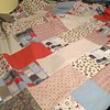 Whipping up a quick baby quilt with @adornit's #TimberlandCritters fabric. Using the #FatQuarterFizzle pattern from @fatquartershop. #handmade