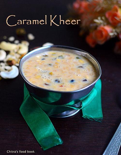 Caramel Kheer recipe