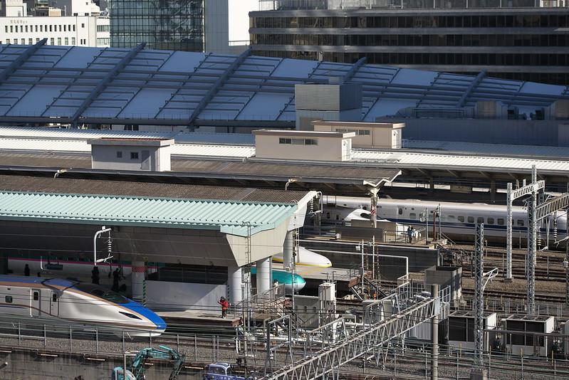 Tokyo Train Story 東京駅の新幹線 2015年2月14日
