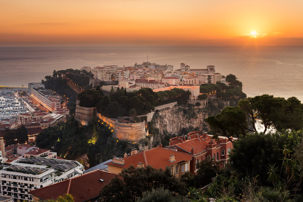 Monaco sunrise #explore