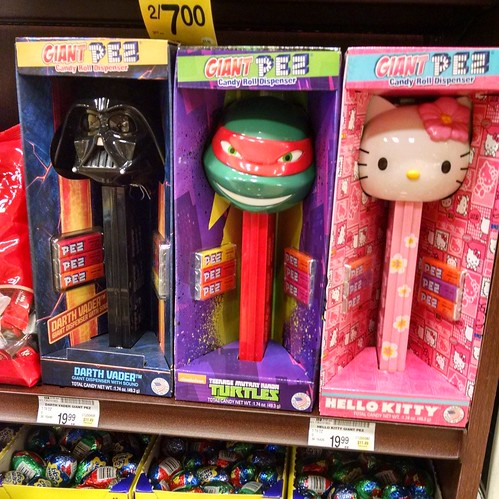 Giant Pez Dispensers