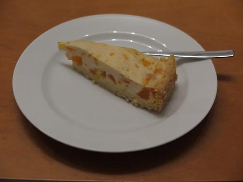 Mandarinen-Schmand-Kuchen (Rest)