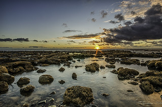 Walney Island sunset