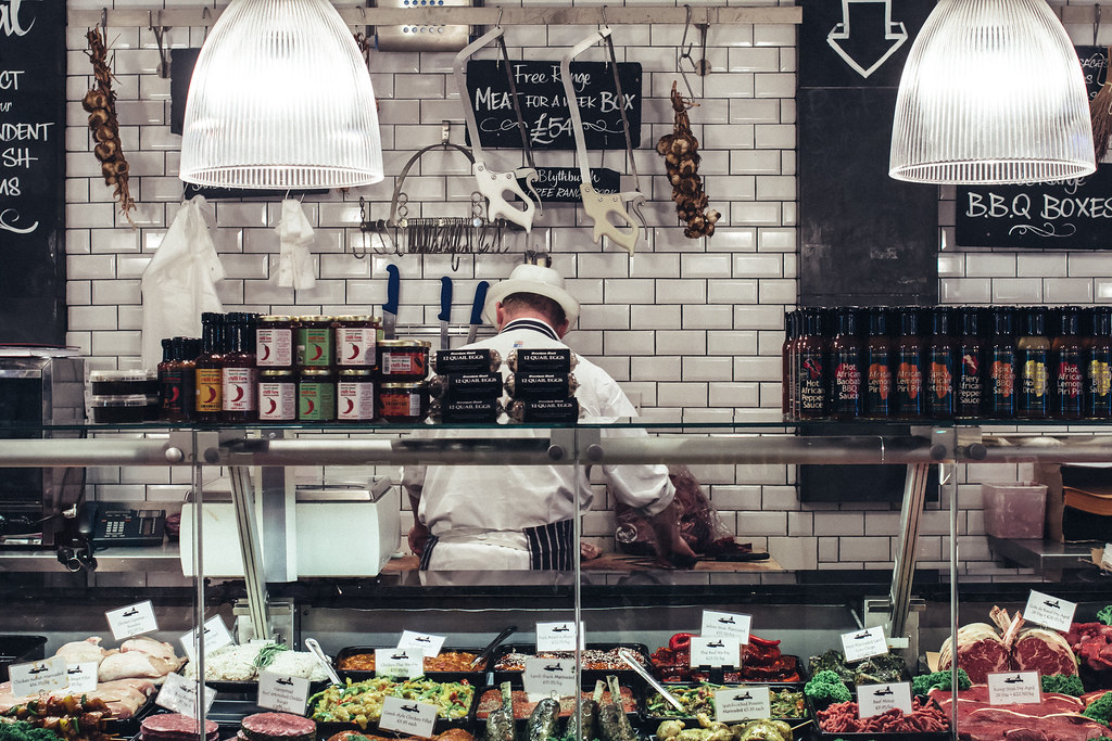 The Hampstead Butcher & Providore. Meat & delicatessen.