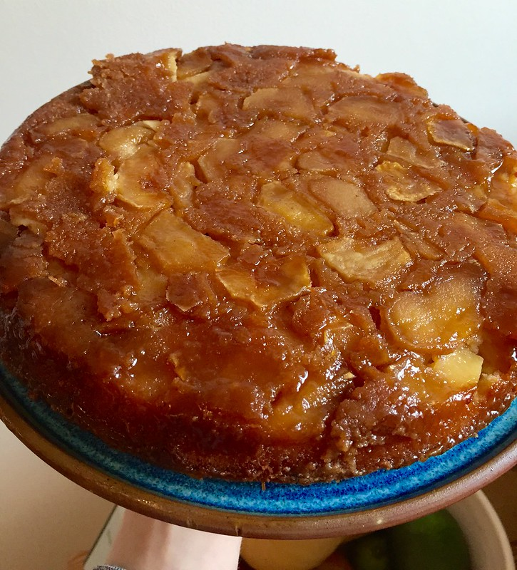 David Lebovitz's caramel upside down apple cake