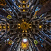 Sagrada Familia, Ceiling by Michel Images