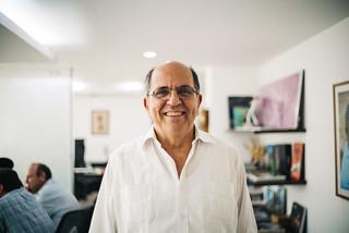 Comenzando un proyecto muy lindo. Aquí con Rodrigo Guerrero, Alcalde de Cali.