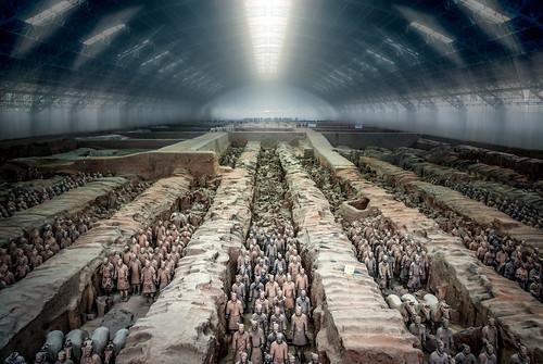 china nikon terracotta warriors d200 shaanxi timemachine tunnelview terracottaarmy xi'an