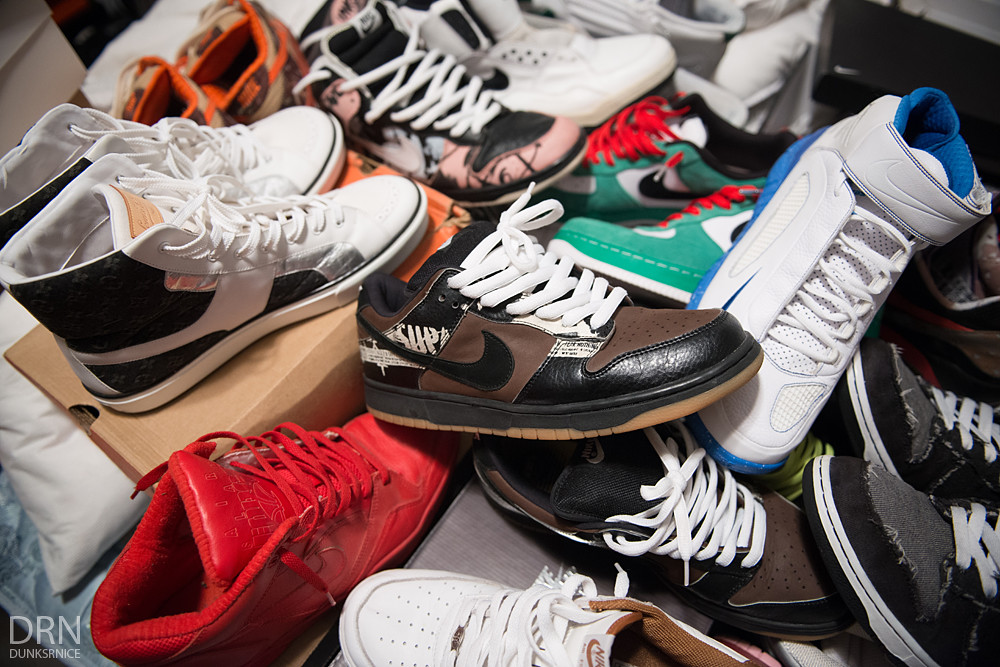 J's Sneaker Collection 2015.