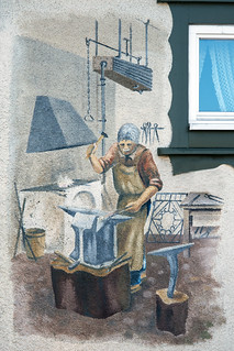The Blacksmith's Shop in Geising, Germany