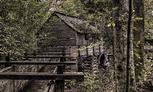 history tennessee nationalparks vacations hdr cadescove greatsmokymountainsnationalpark hss flumes cablemill gristmills nikkor18300mm sliderssunday