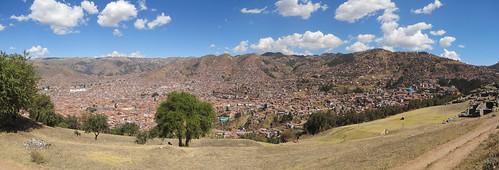 Sacsayhuaman: vue sur Cusco