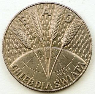 Coin photography - 1971 Poland 10 Zloti