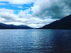 First view of a loch #scotland #uk #exploring #cloudporn
