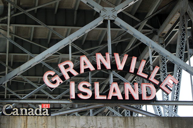 Vancouver Granville Island Sign