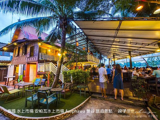 泰國 水上市場 安帕瓦水上市場 Amphawa 曼谷 旅遊景點 75