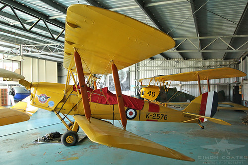 VH-ADW DE HAVILLAND DH-82A TIGER MOTH