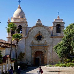 Mission San Carlos Borromeo del río Carmelo, Carmel by the sea, California #missionsancarlos #carmel #carmelbythesea #california #usa #vacation