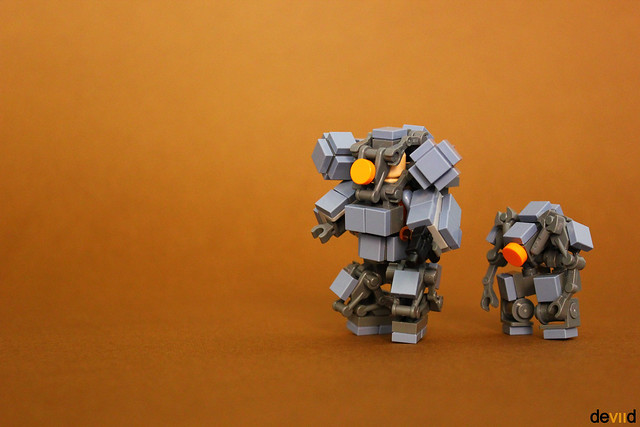 Space Troopers SB-3 and SB-1 drone