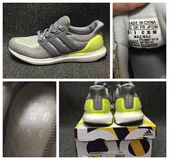 New Arrival!Adidas Ultra Boost M Grey Green BB4145  3c733e7d13