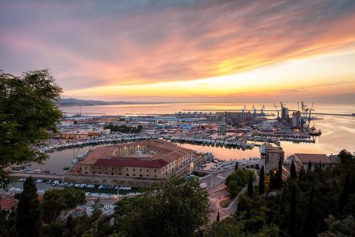 Sunset on Ancona (22620)