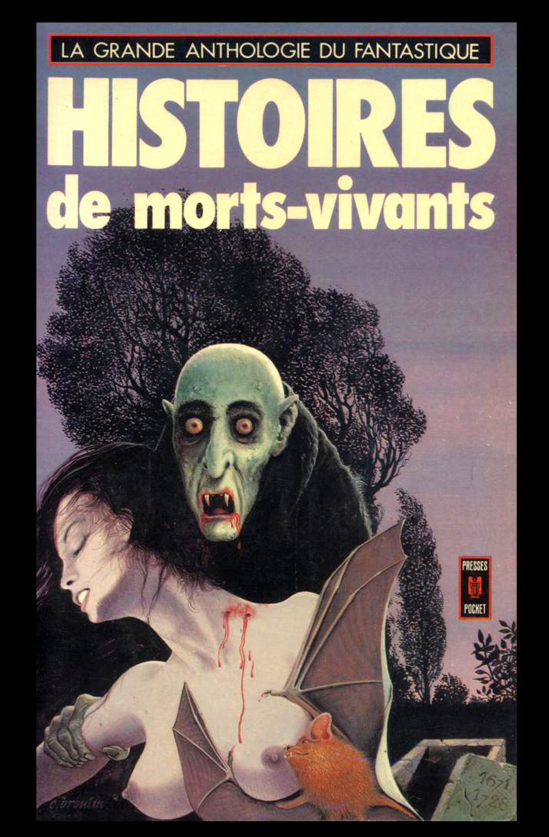 Christian Broutin - Cover Art, Histoires de Morts Vivants, 1977