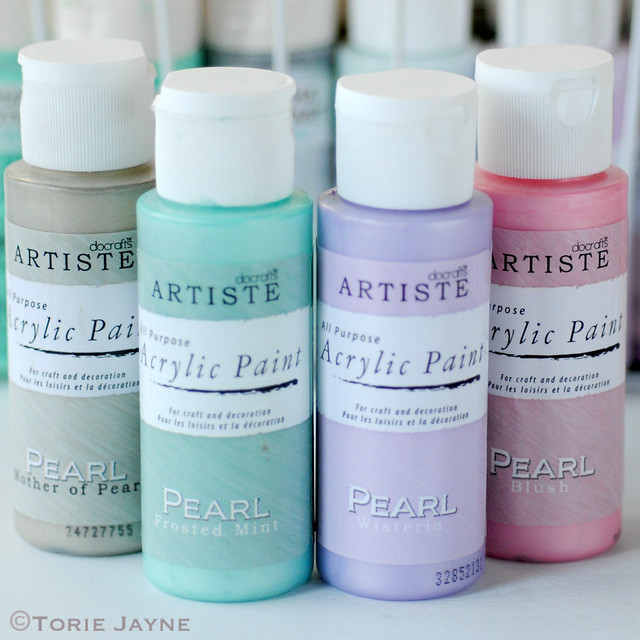 Artiste Acrylic Pearl Paint