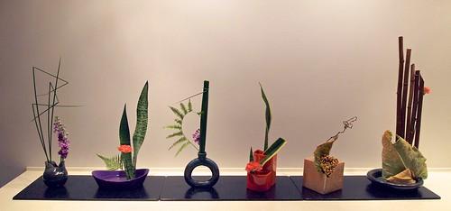 Renka Ikebana Arrangement By Inger Lise Arnesen And Lennart Persson