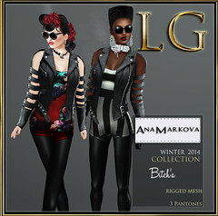 [LG] AM Winter Bitcha Romper Set