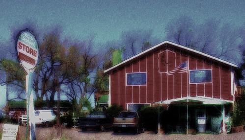 art store colorado digitalart americanflag gasstation americana generalstore coloradonationalmonument gladepark