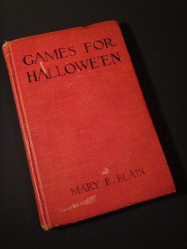 Games for Hallowe'en