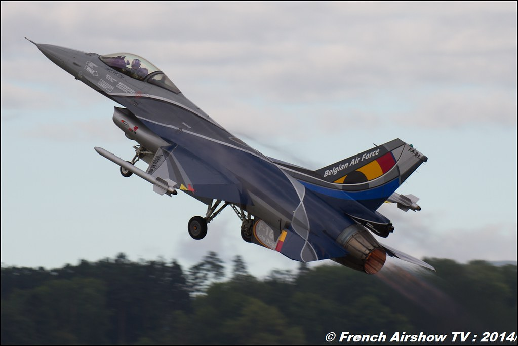 f-16 solo display belge 2014, air14 payerne 2014