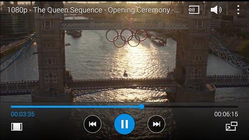 ชมวิดีโอ 1080p บน Samsung Galaxy A5