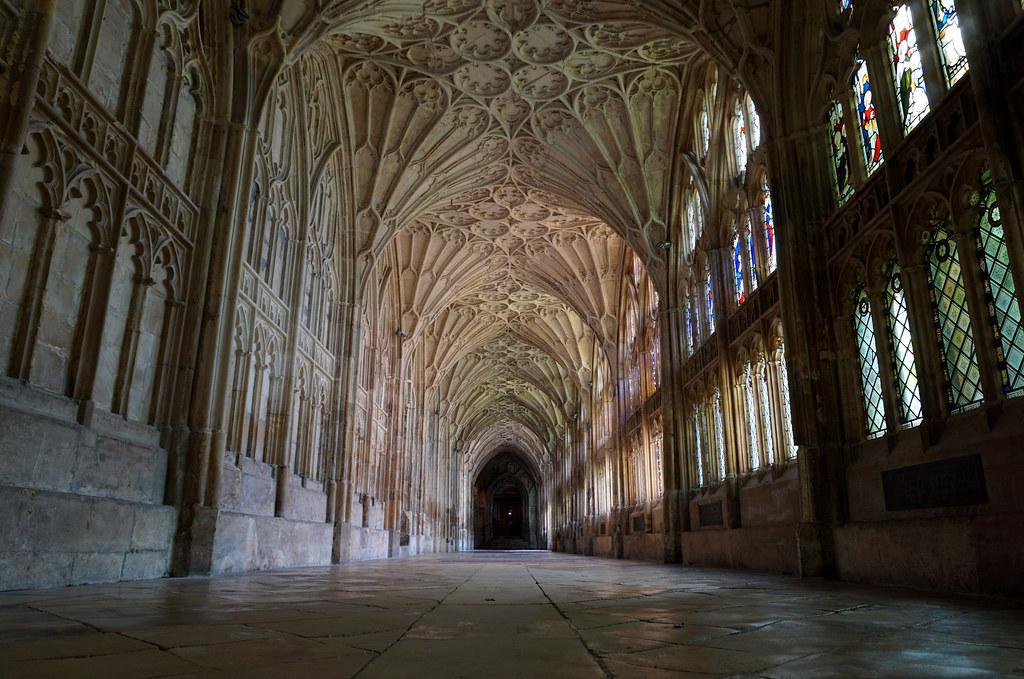 Claustros de la Catedral de Gloucester