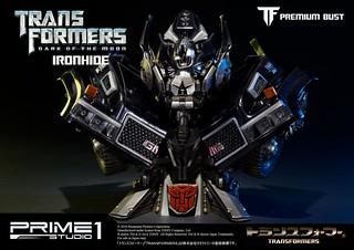 Prime 1 Studio 變形金剛【鐵皮】Transformers 博派 IRONHIDE 半身胸像