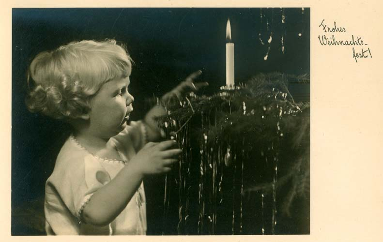 Frohes Weihnachtsfest, Berlin 1934